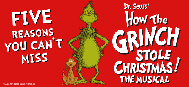 5 reasons you can't miss The Grinch!
